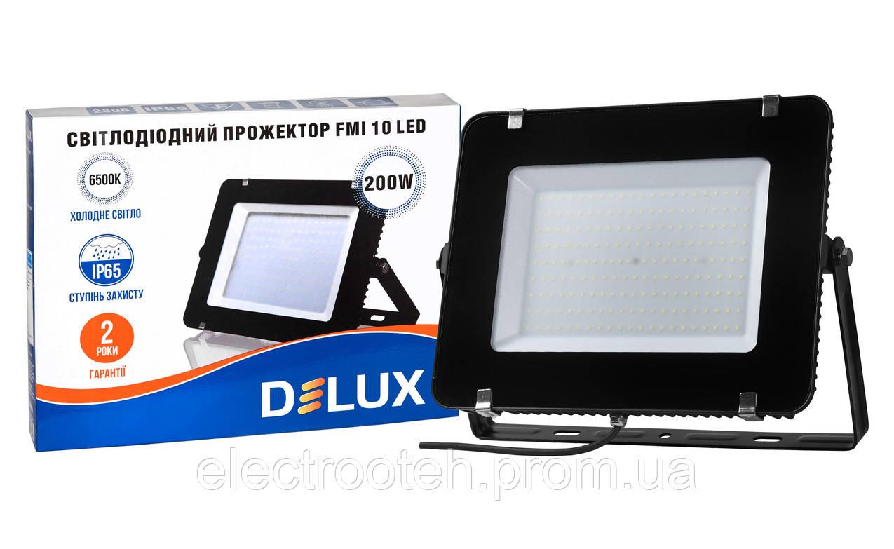 Прожектор світлодіодний FMI 10 LED 200Вт 6500K IP65