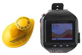 Эхолот-часы Lucky FF518 с беспроводным датчиком, однолучевой, цветной