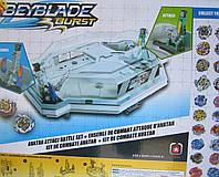 BEYBLADE (Бейблейд) с двумя новыми пусковыми устройствами и ареной