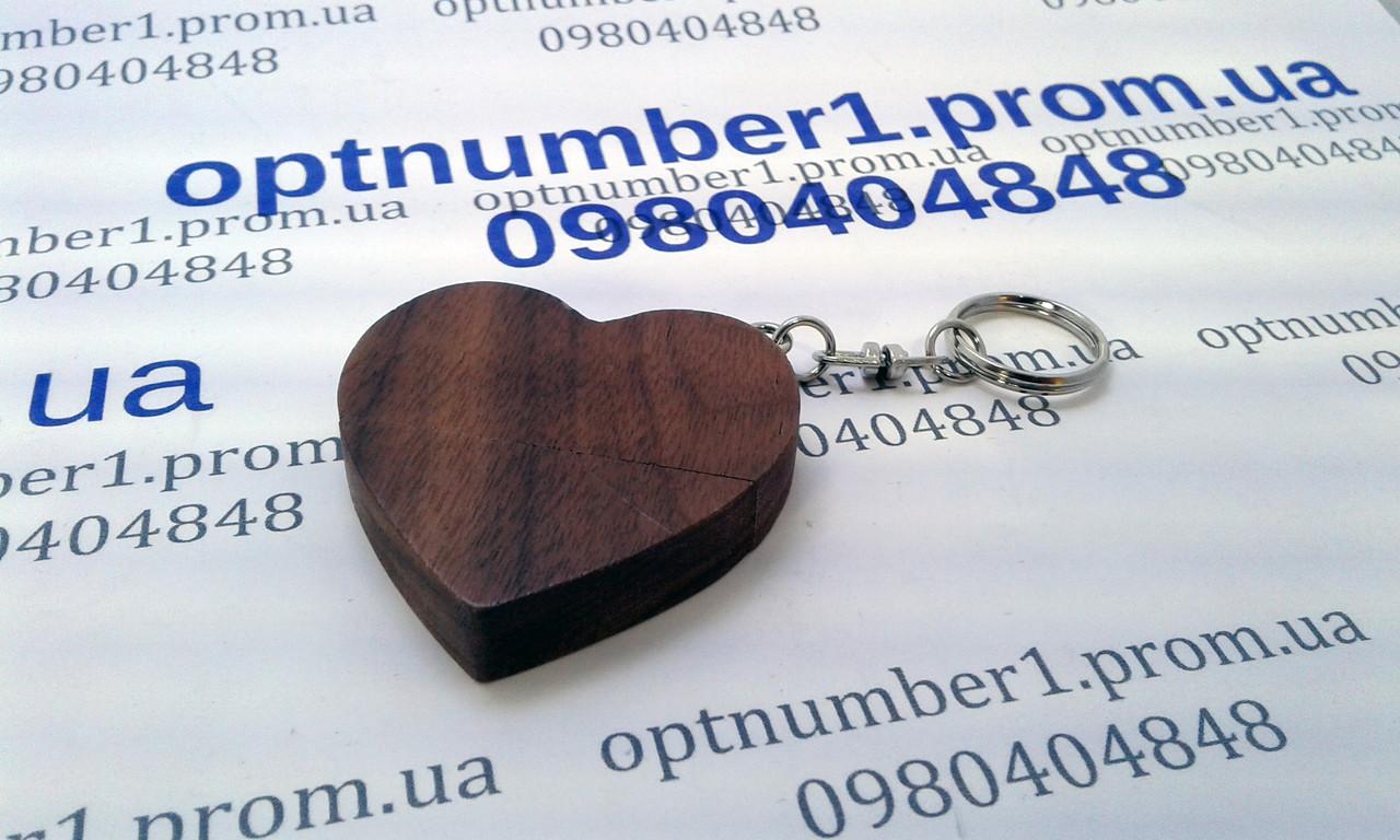 Подарочная флешка, usb, usb flash сердце, heart 32 гб