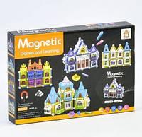 Конструктор магнитный Замок AQ - 906, 75 деталей