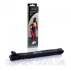 Резинка для подтягивания WAY 4 YOU  5 - 22 кг. (черная)