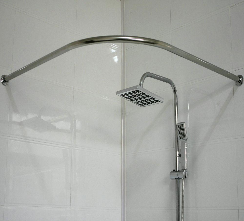 Карниз в ванную комнату г-образный 110*110 Ametist