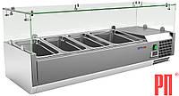 Витрина холодильная настольная COOLEQ VRX 1200/380