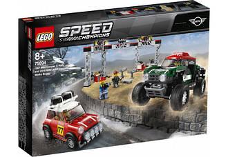 Lego Speed Champions Mini Cooper S Rally и 2018 MINI John Cooper 75894