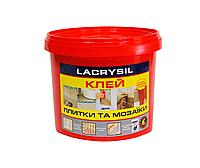 Клей для мозаики и плитки бежевый 8кг Lacrysil