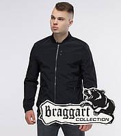 Куртка мужская осень черная Braggart 32488R