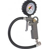 Пневмопистолет для накачивания колес (с латунной головкой) 350 мм Miol 81-520