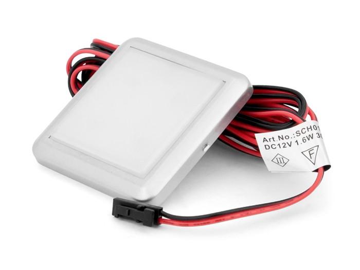 Підсвітка LED GIFF Orion 1,5 W біле теплі світло, металік (БП SPS)