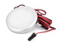 Підсвітка LED GIFF Lira 1,5W біле холодне світло, металік (БП SPS)