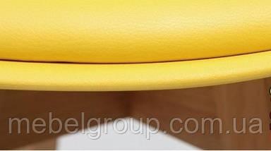 Стул полубарный Элиос с мягкой сидушкой желтый, фото 2