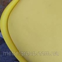 Стул полубарный Элиос с мягкой сидушкой желтый, фото 3