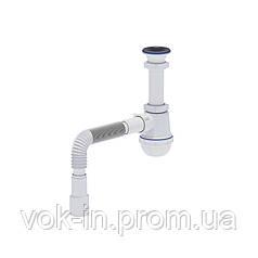 Ani Plast Сифон для кухонной мойки 70 мм (выход 40/50 мм)