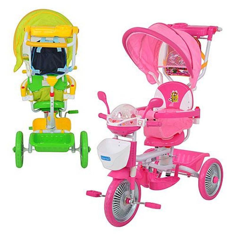 🔥✅ Велосипед трехколесный с родительской ручкой ET A18-10-1