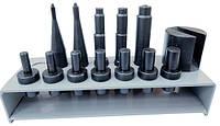 Набор насадок для заклёпочника пневматического для клёпки тормозных накладок (колодок)  AIRKRAFT NNZPTN