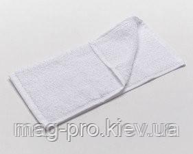Махровое полотенце плотность 550гр./м2 - белое Пакистан 30х50