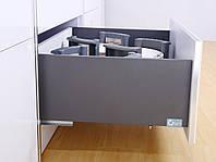 Висувна шухляда GIFF FlatBox L = 550 H = 199 графіт