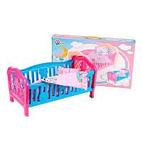 "Кроватка для куклы 4494 ""ТехноК"""