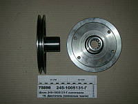 Шкив коленвала МАЗ-4370 1-ручьевой под шлицы (пр-во ММЗ)