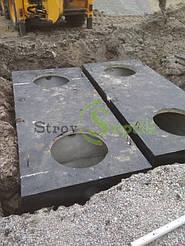 Септик бетонный 8 куб.м. + дренажное поле 4
