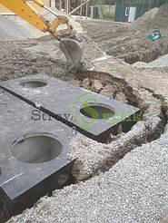 Септик бетонный 8 куб.м. + дренажное поле 5