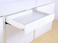 Висувна шухляда GIFF FlatBox L = 500 H = 84 білий, фото 1