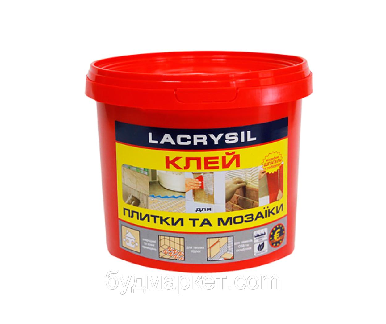 Клей для мозаїки і плитки бежевий 15кг Lacrysil