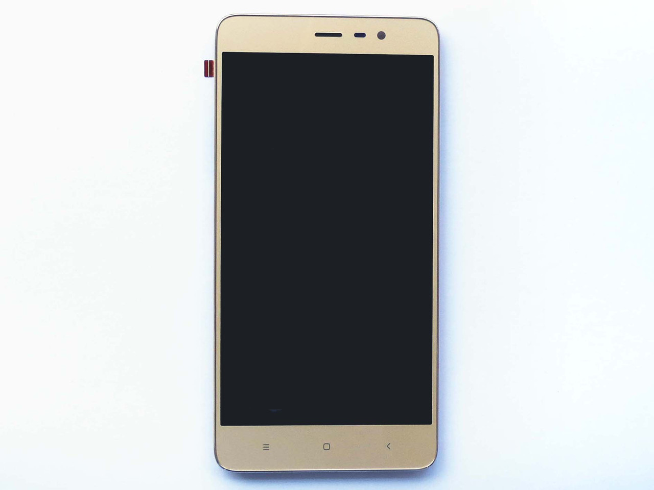 Дисплей для Xiaomi Redmi Note 3 Pro Special Edition с тачскрином и рамкой золотистый Оригинал 149 x 73 mm