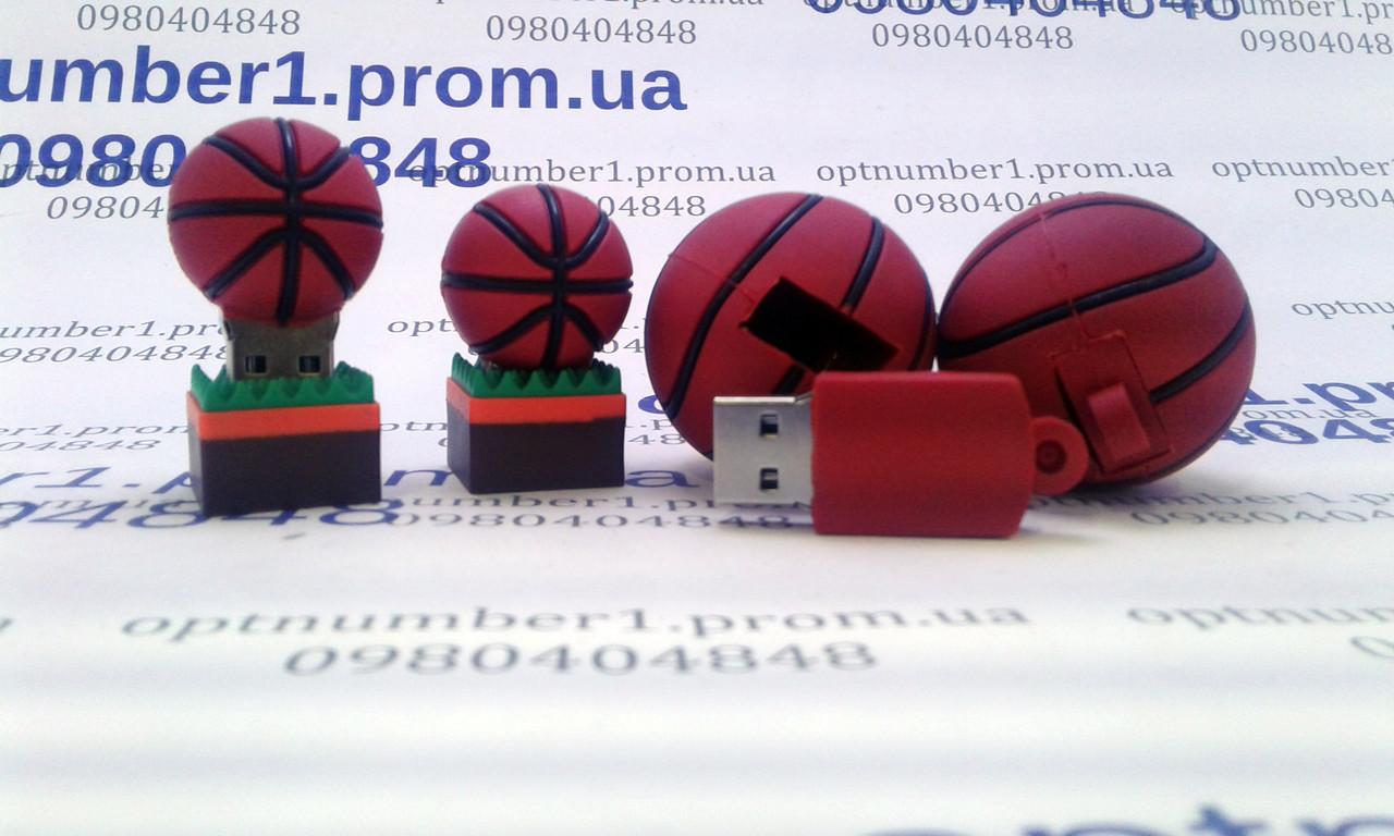 Подарочная флешка, usb, usb flash мяч, ball 16 гб
