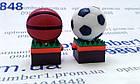 Подарочная флешка, usb, usb flash мяч, ball 16 гб, фото 5