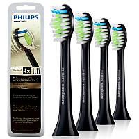 Philips DiamondClean Standard насадки для электрических зубных щеток HX6064 4 штуки в упаковке