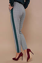 Модные женские брюки с полосой сбоку 42-48, фото 2