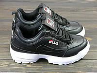 Кроссовки женские Lonza 93-10 BLACK 36 23 см, фото 1