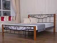 Кровать Ленора 1600*2000 (каштан)