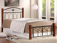 Кровать Миранда односпальная (каштан)