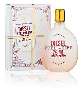 Diesel Fuel For Life Summer Edition туалетная вода 75 ml. (Дизель Фуел Фор Лайф Саммер Эдишн)