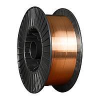 Сварочная проволока омедненная Св08Г2С(-О) Ф1,0 (касеты 5 кг) (ER70S)