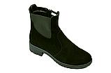 Ботинки челси женские натуральная замша демисезонные и зимние от производителя KARMEN 233016, фото 6