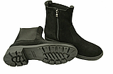 Ботинки челси женские натуральная замша демисезонные и зимние от производителя KARMEN 233016, фото 4