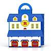 """Кейс-гараж Robocar POLI Silverlit """"Штаб-квартира"""" (в наборе металлическая машинка Поли), фото 2"""