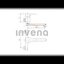 Смеситель для раковины Invena Verso BC-82-001, фото 2