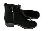 Ботинки челси женские натуральная замша демисезонные и зимние от производителя KARMEN 233016, фото 5
