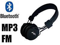 Беспроводные наушники c Bluetooth NIA X2 Блютуз наушники с MP3 плеером и FM радио Micro SD / TF-плеер + Aux-In, фото 1