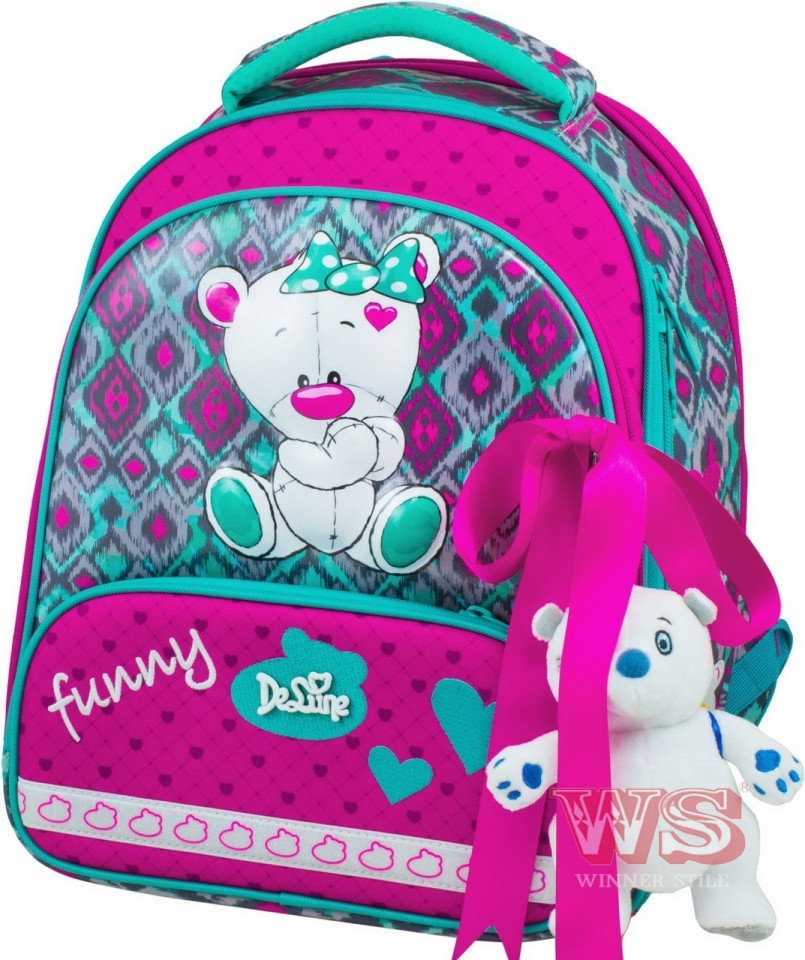 Рюкзак школьный с наполнением DeLune, 9-112, 639141
