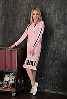 Платье спортивное с капюшоном 012D/03, фото 1