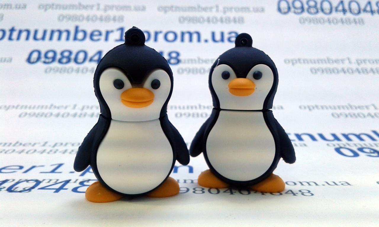 Подарочная флешка, usb, usb flash пингвин, Linux, 16 гб