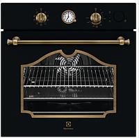 Встраиваемая духовка с функцией паровой печи  Electrolux EOB6220AOR  цвет - матовый черный, фото 1