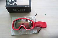 Лыжная маска Dragon Alliance Rogue Stone Red Универсальная линза Ionized