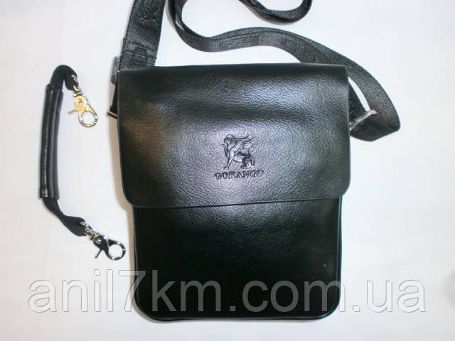 Мужская сумка через плечо для денег,документов