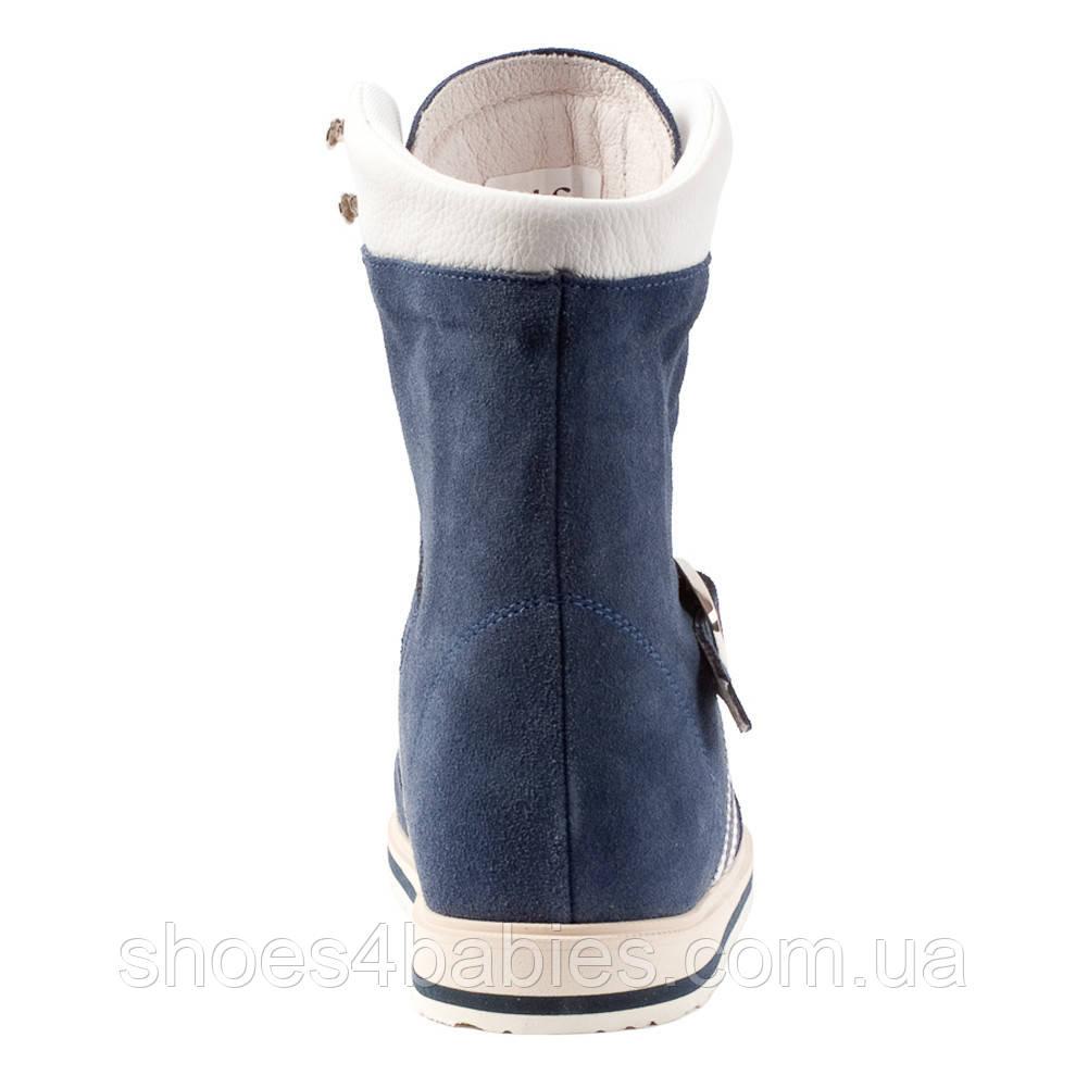 f96f4a24f ... Memo Sprint Голубые (ДЦП) - Ботинки с высоким жестким задником, ...